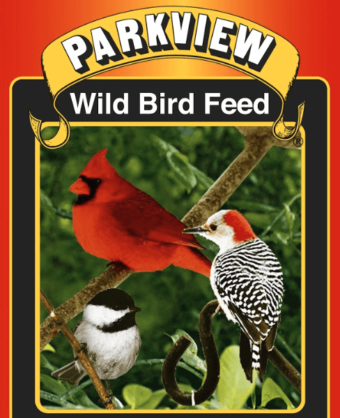 Park view wild bird feed